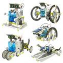 DIY Solární stavebnice roboti 14v1 pohyblivá
