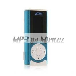 MP3 přehrávač s reproduktorem modrý