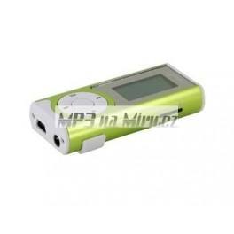 MP3 přehrávač s reproduktorem zelený