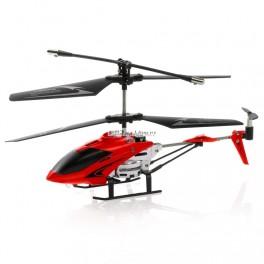 RC mini vrtulník červený