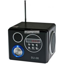 Rádio kostka na MP3 stereo přenosné