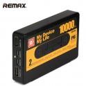 PowerBank USB Remax Tape 10000mAh černá