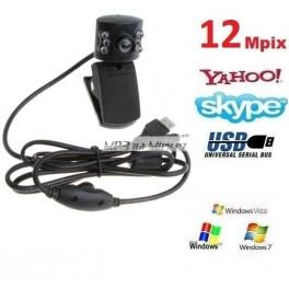 Webkamera 12MPx s mikrofonem