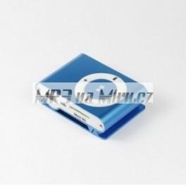Mini MP3 přehrávač modrý