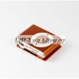 Mini MP3 přehrávač oranžový