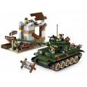 Enlighten Stavebnice Tanková bitva 380 dílů