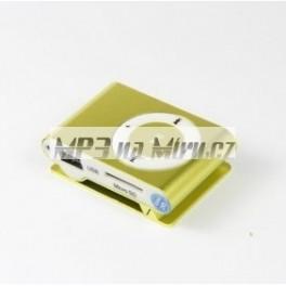 Mini MP3 přehrávač žlutý