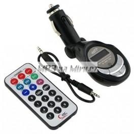 FM transmitter MP3 černý