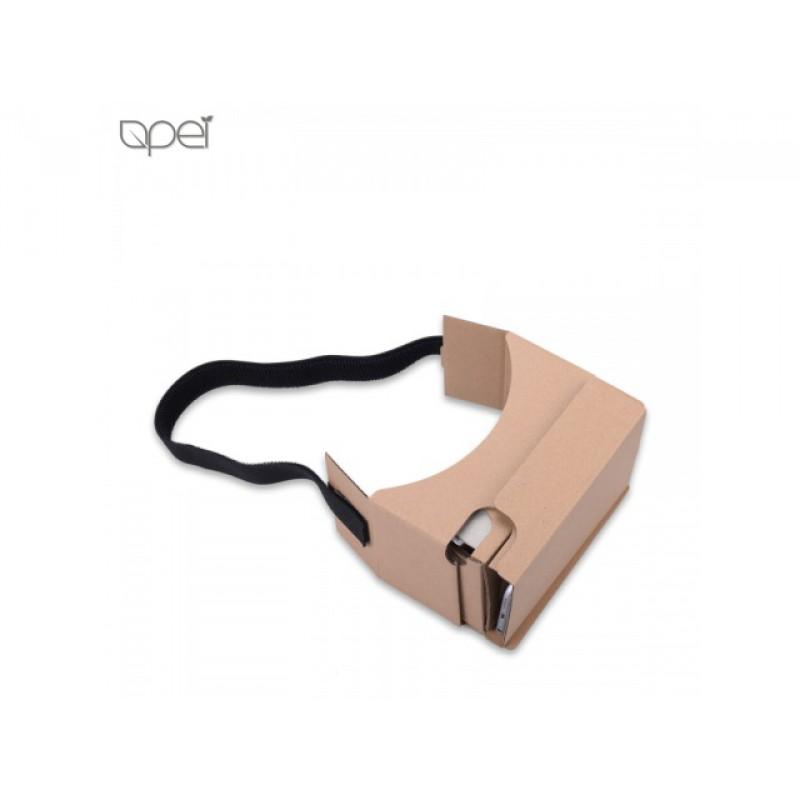 Levné a praktické brýle pro 3D virtuální realitu Apei Eco VR Paperboard.