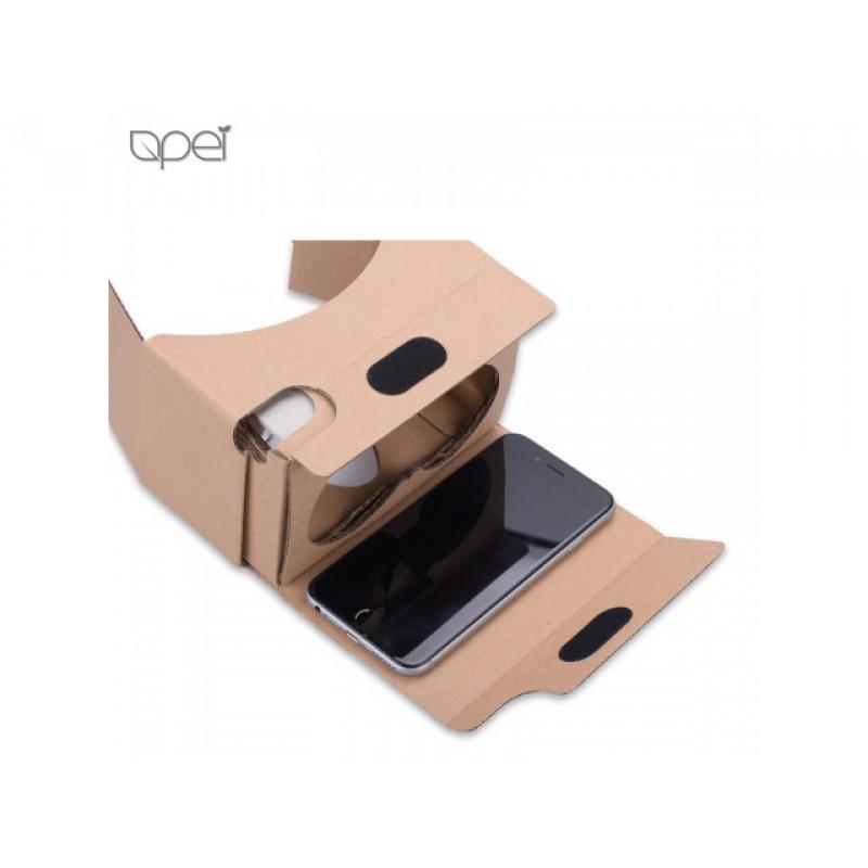 Vložte do brýlí svůj chytrý telefon a přes dvě kvalitní čočky si vychutnávejte nový rozměr virtuální reality.