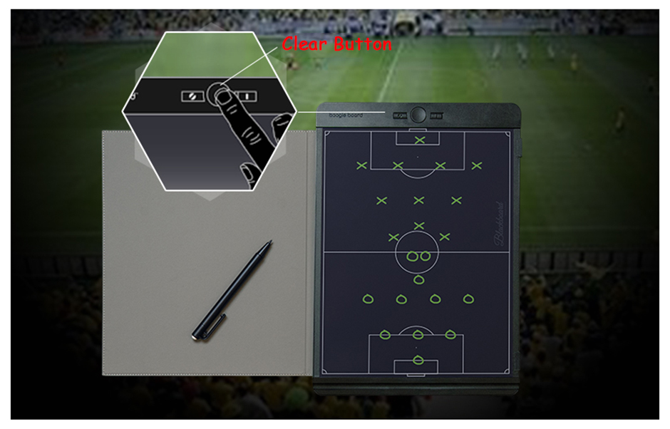 Psací LCD tablet Apei Writing Board je bezpapírová elektronická alternativa poznámkového bloku, náčrtníku nebo k jednoduchým mazacím tabulkám či hraní tradičních piškvorek.