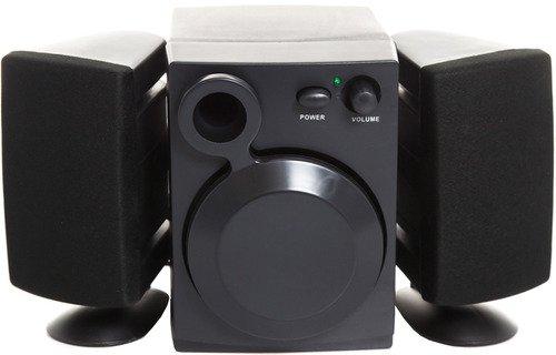 Reproduktorova sestava 6W Defender Z3 pro akustický 2.1 poslech MP3 hudby, filmu či her z PC, laptopu nebo také i mobilního telefonu kdekoliv!