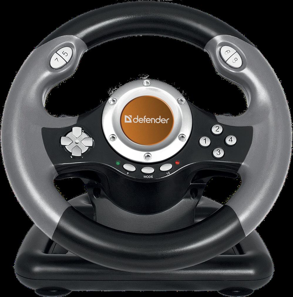 Herní USB volant k počítači pro správné mladé závodníky!
