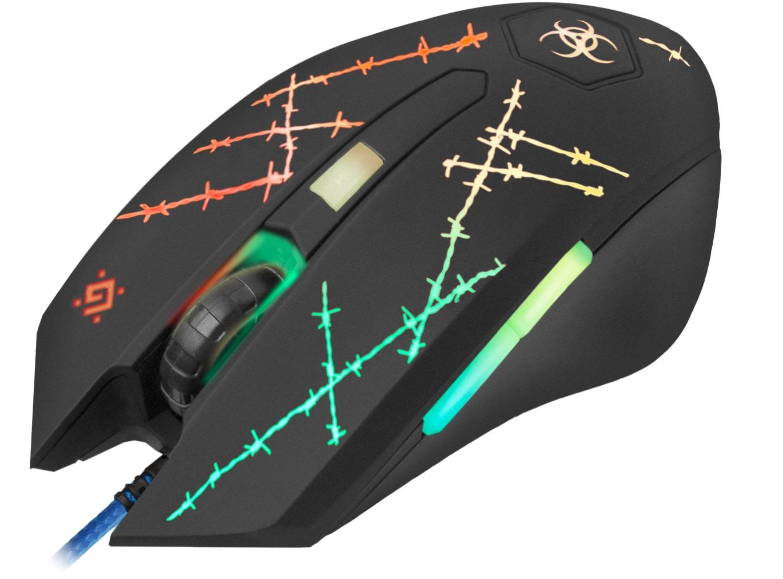 Kvalitní drátová herní myš Defender představuje cenově přívětivou volbu nejen pro hráče, ale také pro běžně pracující uživatele.