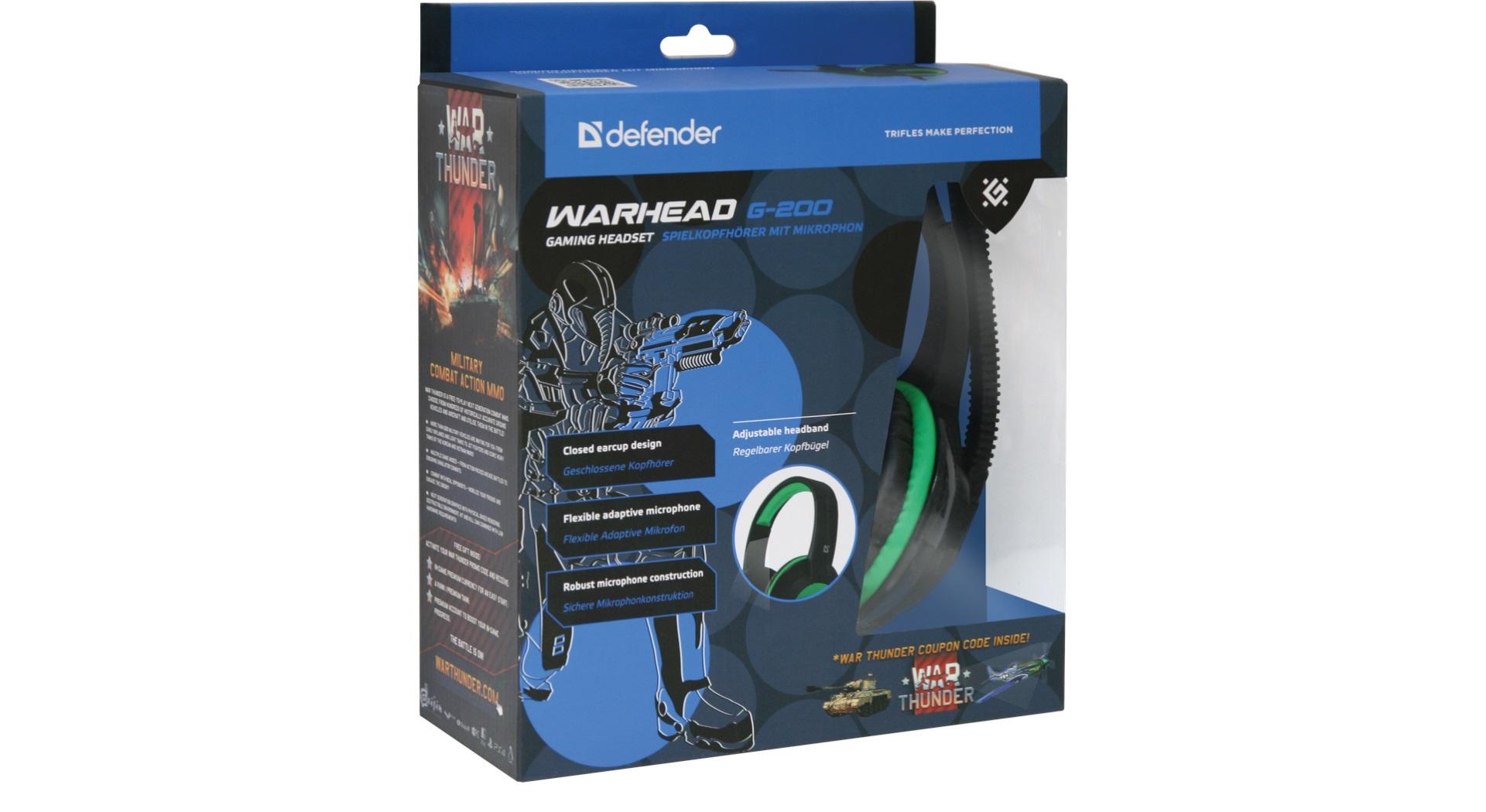 Herní sluchátka s mikrofonem v bezpečném uložení v krabici.