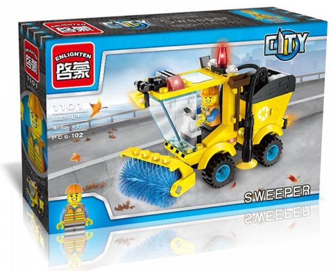 V sadě naleznete přehledný návod k montáži. Baleno v krabici. Materiál nezávadné ABS plast. Stavebnice je vhodná pro děti od 6 let.