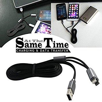 Tento univerzální kabel umožňuje dobíjení a synchronizaci počítače s daným produktem přes Lightning nebo microUSB konektor. Ideální typ kabelu jak na doma, tak na cesty.