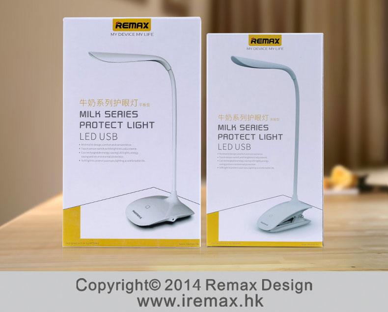 Stolní dotyková LED lampička Remax Milk Series se perfektně hodí na váš pracovní stůl, šikovná, menší, ale výkonná.