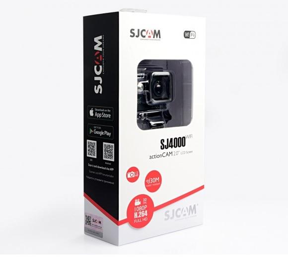 Obsah balení sportovní kamery SJ4000 WiFi naleznete na fotografii u produktu.