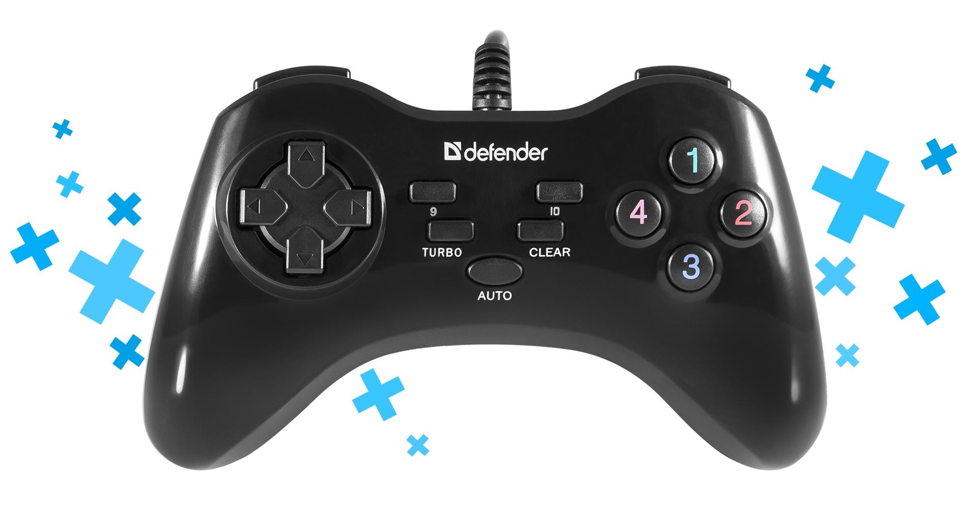 Při dostupné ceně má gamepad všechny potřebné funkční klávesy a komfortně leží v rukou hráče.