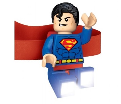 Zář tohoto svítícího šikuly značky LEGO Vám vždy ukáže cestu.