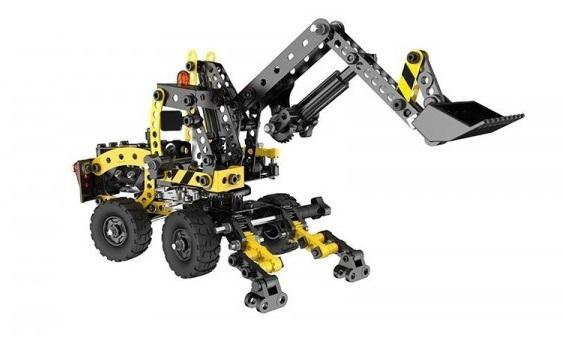 Stavebnice představuje báječnou hračku pro všechny malé kutily a konstruktéry! Pořiďte svému dítěti tuto skvělou ocelovou stavebnici a už si nebude chtít hrát s ničím jiným.