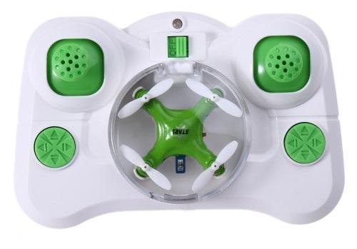 Miniaturní dron je vybavena LED diodami, ty nejsou pouze k dotváření efektu, ale také k funkčnosti.