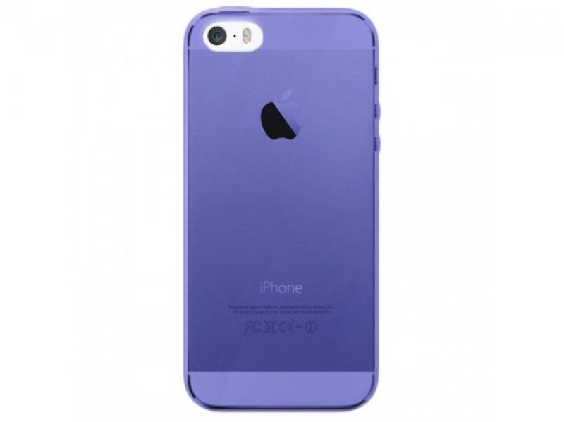 Unikátní ochranný silikonový obal pro Apple iPhone řady 5 v čirém provedení si vyberete z více barevných provedení.