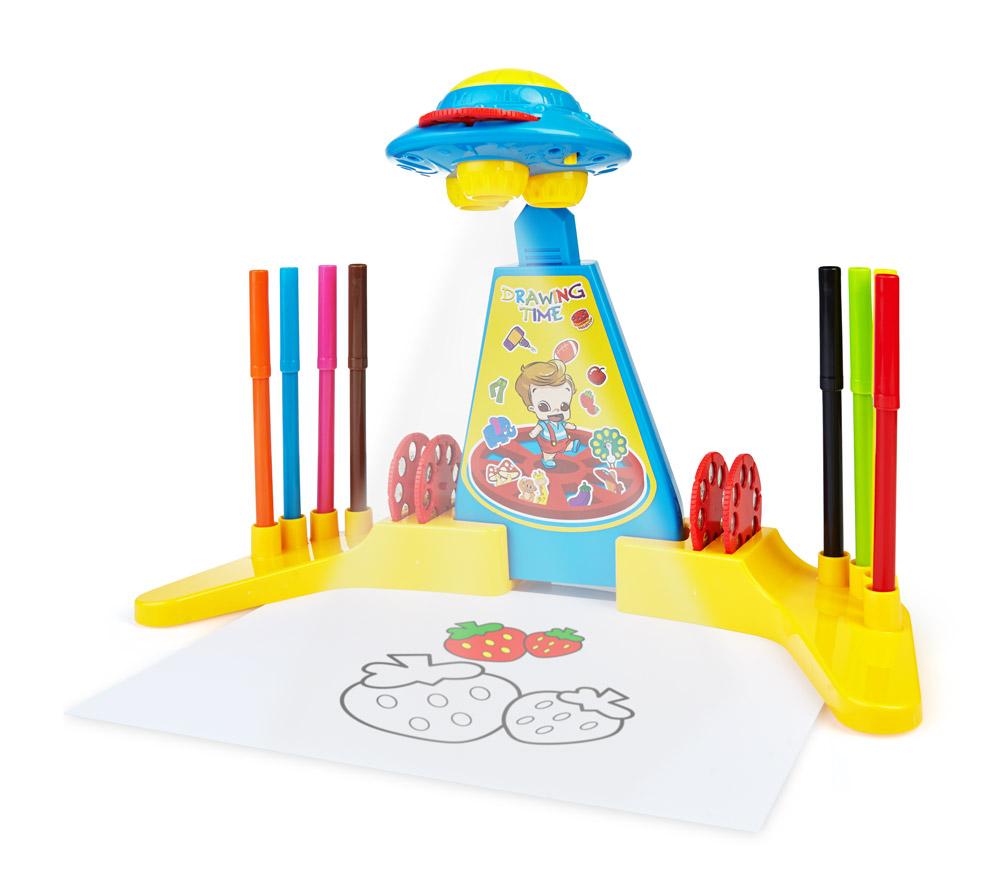 Naučný dětský projektor na malování pro kreativní rozvoj Vaších ratolestí!