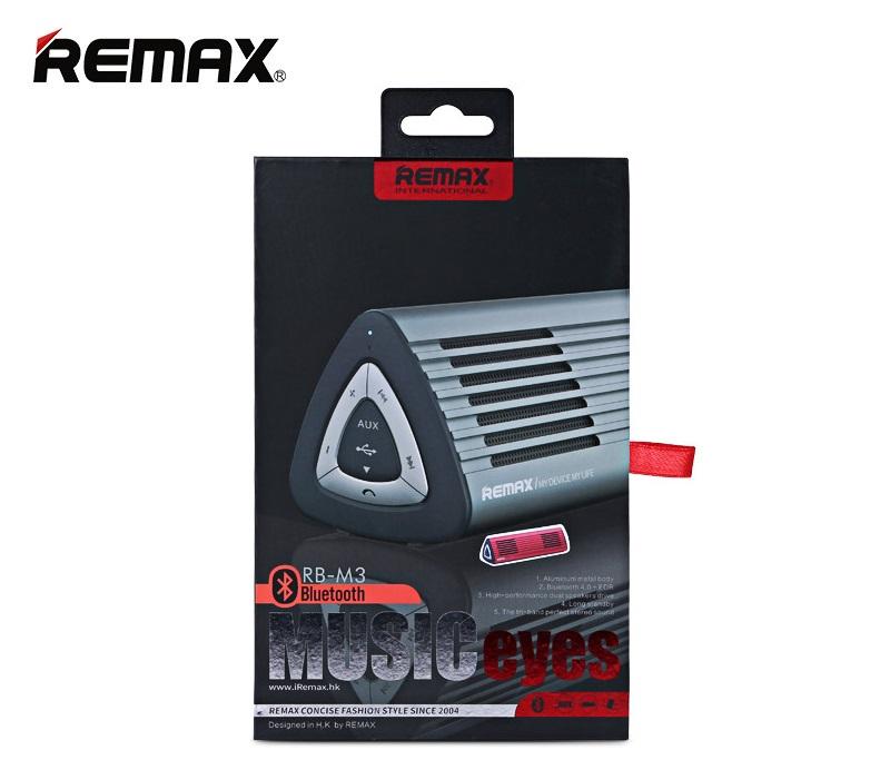 Ke kladům repráčků Remax M3 patří i skvělá výdrž baterie až 6 hodin nebo možnost přijímat telefonní hovory. Jistě oceníte i vynikající kvalitu zvuku a díky použitému hliníku se navíc reproduktor hodí do každé místnosti.