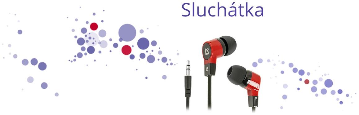 Náhradní sluchátka pro mobilní zařízení a další audio zařízení.